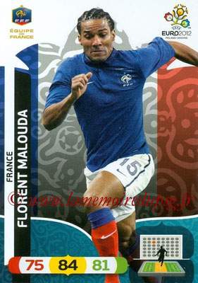 Panini Euro 2012 Cards Adrenalyn XL - N° 083 - Florent MALOUDA (France)
