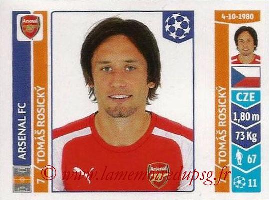 2014-15 - Panini Champions League N° 267 - Tomas ROSICKY (Arsenal FC)