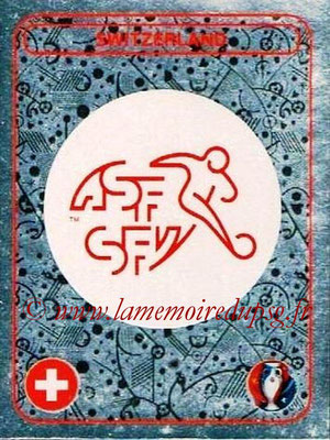 Panini Euro 2016 Stickers - N° 016 - Logo Suisse