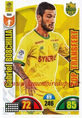 2018-19 - Panini Adrenalyn XL Ligue 1 - N° 504 - Gabriel BOSCHILIA (Nantes) (Top Transfert)
