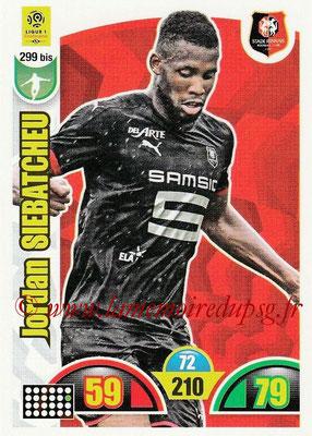 2018-19 - Panini Adrenalyn XL Ligue 1 - N° 299 bis - Jordan SIEBATCHEU (Rennes)