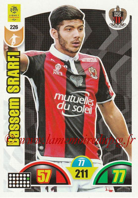 2018-19 - Panini Adrenalyn XL Ligue 1 - N° 226 - Bassem SRARFI (Nice)