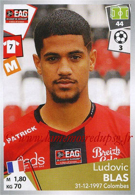 2017-18 - Panini Ligue 1 Stickers - N° 139 - Ludovic BLAS (Guingamp)