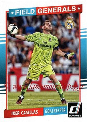 2015 - Panini Donruss Soccer - N° FG06 - Iker CASILLAS (Real Madrid CF) (Field Generals)