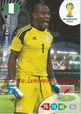 2014 - Panini FIFA World Cup Brazil Adrenalyn XL - N° 263 - Vincent ENYEAMA (Nigeria)