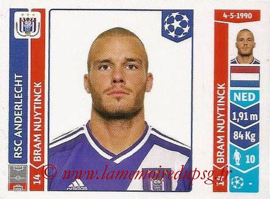 2014-15 - Panini Champions League N° 310 - Bram NUYTINCK (RSC Anderlecht)