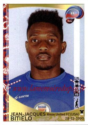 Panini Copa America Centenario USA 2016 Stickers - N° 167 - Jean-Jacques BITIELO (Haiti)