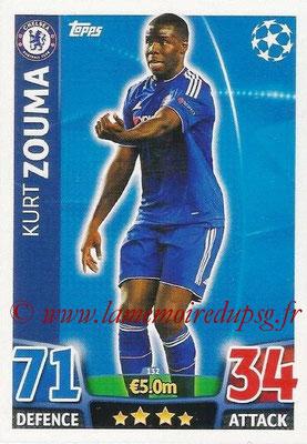 2015-16 - Topps UEFA Champions League Match Attax - N° 132 - Kurt ZOUMA (Chelsea FC)