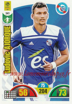 2018-19 - Panini Adrenalyn XL Ligue 1 - N° 341 - Ludovic AJORQUE (Strasbourg)