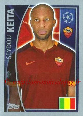2015-16 - Topps UEFA Champions League Stickers - N° 345 - Seydou KEITA (AS Roma)