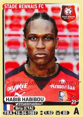 2015-16 - Panini Ligue 1 Stickers - N° 405 - Habib HABIBOU (Stade Rennais FC)