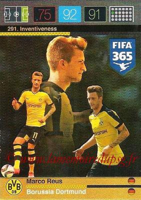 2015-16 - Panini Adrenalyn XL FIFA 365 - N° 291 - Marco REUS (Borussia Dortmund) (Investiveness)
