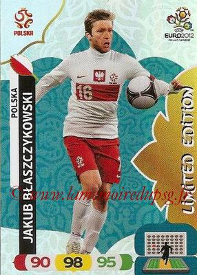 Panini Euro 2012 Cards Adrenalyn XL - N° LE35 - Jakub BLASZCZYKOWSKI (Pologne) (Limited Edition)