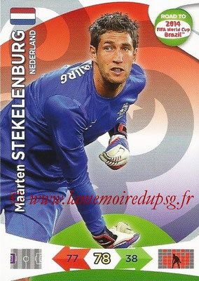 2014 - Panini Road to FIFA World Cup Brazil Adrenalyn XL - N° 130 - Maarten STEKELENBURG (Pays-Bas)