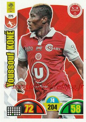 2018-19 - Panini Adrenalyn XL Ligue 1 - N° 275 - Youssouf KONE (Reims)