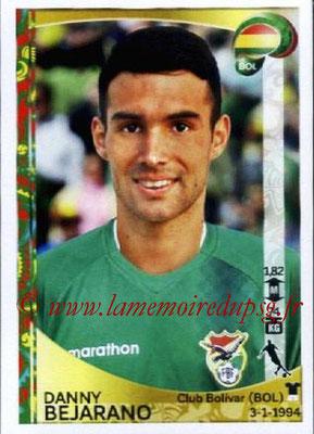 Panini Copa America Centenario USA 2016 Stickers - N° 393 - Danny BEJARANO (Bolivie)