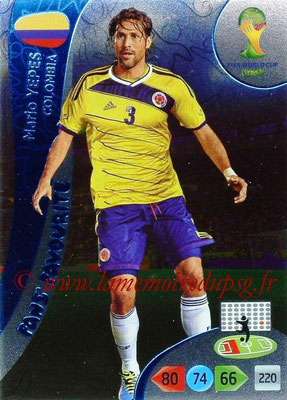 2014 - Panini FIFA World Cup Brazil Adrenalyn XL - N° 331 - Mario YEPES (Colombie) (Fan's favorite)