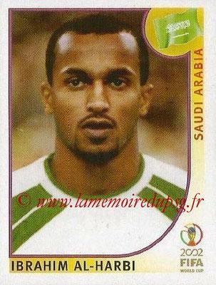 2002 - Panini FIFA World Cup Stickers - N° 343 - Ibrahim AL-HARBI (Arabie Saoudite)