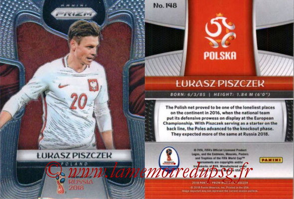 2018 - Panini Prizm FIFA World Cup Russia - N° 148 - Lukas PISZCZEK (Pologne)