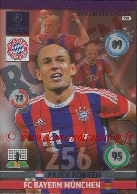 2014-15 - Adrenalyn XL champions League N° 350 - Arjen ROBBEN (FC Bayern Munchen) (Inventiveness)