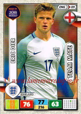 2018 - Panini Road to FIFA World Cup Russia Adrenalyn XL - N° ENG09 - Eric DIER (Angleterre)