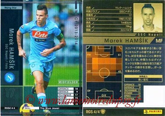2013-14 - WCCF - N° RGS4 - Marek HAMSIK (SSC Naples) (Rising Star)