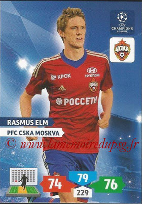 2013-14 - Adrenalyn XL champions League N° 130 - Rasmus ELM  (PFC CSKA Moscou)
