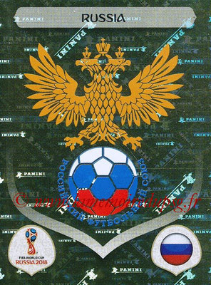 2018 - Panini FIFA World Cup Russia Stickers - N° 032 - Ecusson Russie