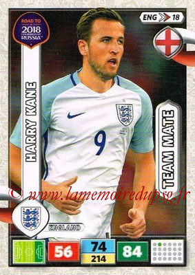 2018 - Panini Road to FIFA World Cup Russia Adrenalyn XL - N° ENG18 - Harry KANE (Angleterre)