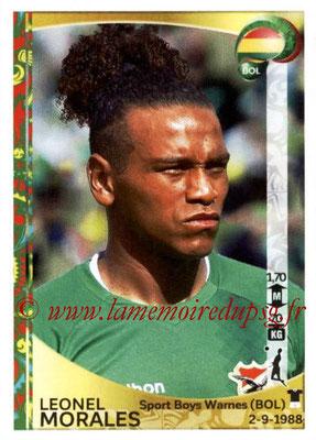 Panini Copa America Centenario USA 2016 Stickers - N° 383 - Leonel MORALES (Bolivie)