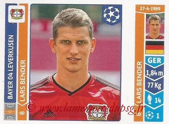 2014-15 - Panini Champions League N° 222 - Lars BENDER (Bayer 04 Leverkusen)