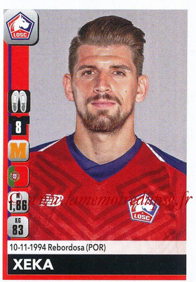 2018-19 - Panini Ligue 1 Stickers - N° 164 - XEKA (Lille)
