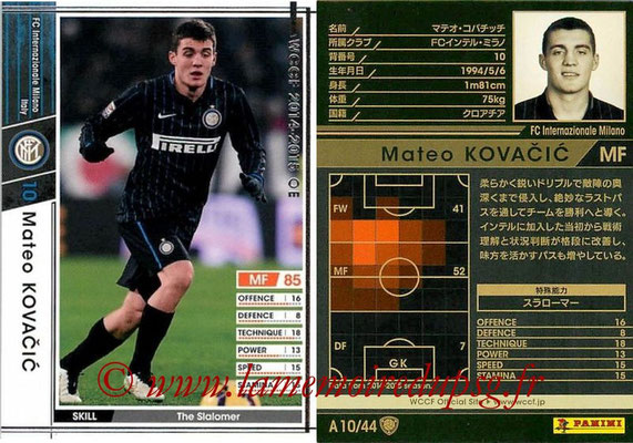 2013-14 - WCCF - N° A10 - Mateo KOVACIC (FC Inter Milan)