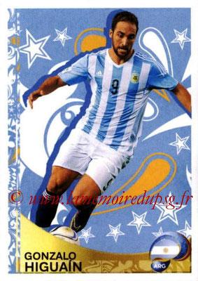 Panini Copa America Centenario USA 2016 Stickers - N° 400 - Gonzalo HIGUAIN (Argentine) (En action)