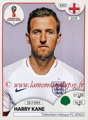 2018 - Panini FIFA World Cup Russia Stickers - N° 589 - Harry KANE (Angleterre)