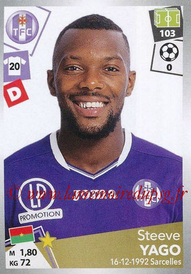 2017-18 - Panini Ligue 1 Stickers - N° 475 - Steeve YAGO (Toulouse)