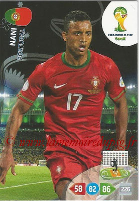 2014 - Panini FIFA World Cup Brazil Adrenalyn XL - N° 276 - NANI (Portugal)