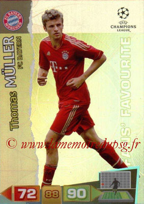 2011-12 - Panini Champions League Cards - N° 302 - Thomas MÜLLER (FC Bayern Munich)