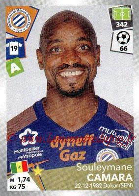 2017-18 - Panini Ligue 1 Stickers - N° 302 - Souleymane CAMARA (Montpellier)