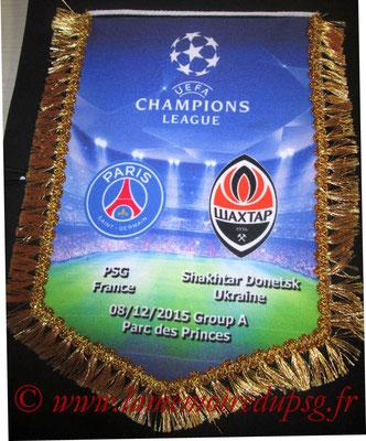 Grand Fanion  PSG-Shakhtar Donetsk  2015-16