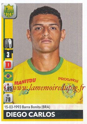 2018-19 - Panini Ligue 1 Stickers - N° 278 - DIEGO CARLOS (Nantes)