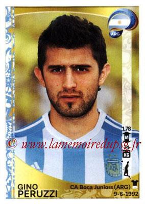 Panini Copa America Centenario USA 2016 Stickers - N° 310 - Gino PERUZZI (Argentine)