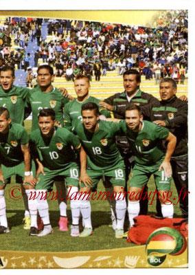 Panini Copa America Centenario USA 2016 Stickers - N° 376 - Equipe Bolivie2