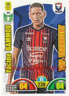 2018-19 - Panini Adrenalyn XL Ligue 1 - N° 493 - Yacine BAMMOU (Caen) (Top Transfert)