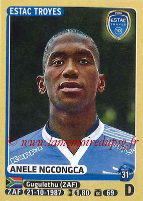 2015-16 - Panini Ligue 1 Stickers - N° 466 - Anele NGCONGCA (ESTAC Troyes)