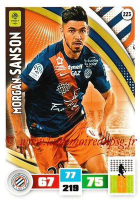 2016-17 - Panini Adrenalyn XL Ligue 1 - N° 223 - Morgan SANSON (Montpellier)