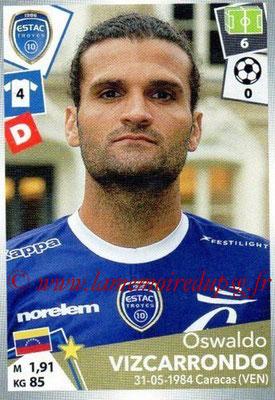 2017-18 - Panini Ligue 1 Stickers - N° 502 - Oswaldo VIZCARRONDO (Troyes)