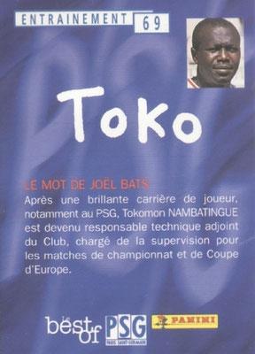 N° 069 - TOKO (Verso)
