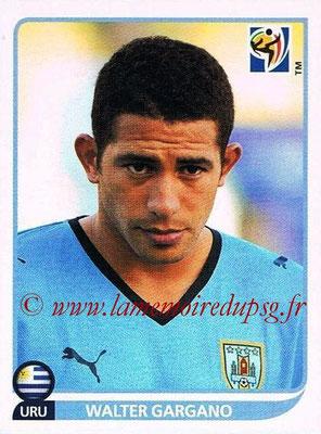 2010 - Panini FIFA World Cup South Africa Stickers - N° 077 - Walter GARGANO (Uruguay)