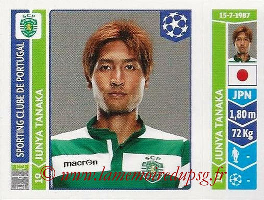 2014-15 - Panini Champions League N° 541 - Junya TANAKA (Sporting Club de Portugal)